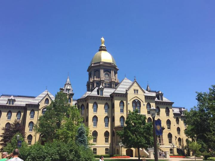Explore Indiana: the University of Notre Dame