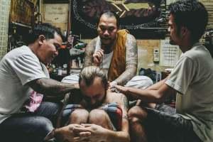 Get a Sak Yant Bamboo Tattoo in Thailand the SAFE WAY!