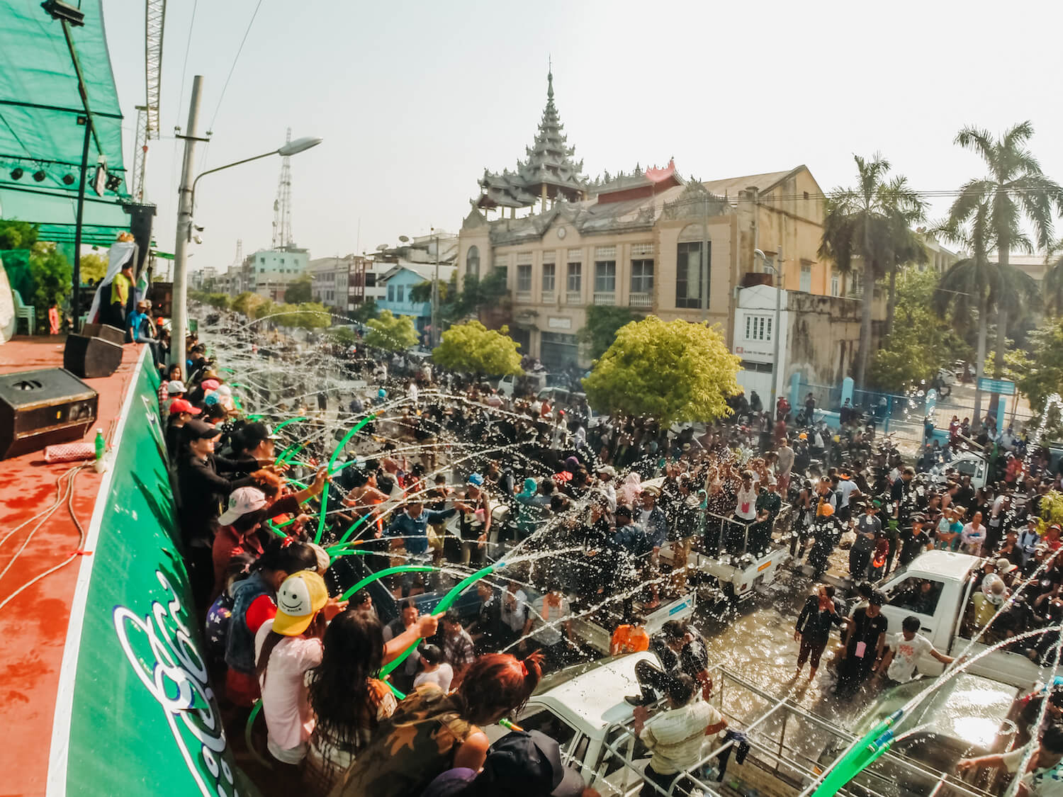 Thingyan Festival in Myanmar: The World's Most Epic Water Battle