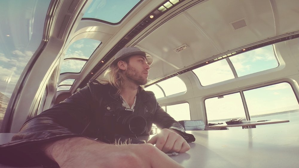 Riding Amtrak Empire Builder train