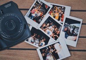 Polaroids of Medsailors Friends