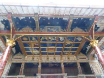 Behind the scenes tour - ceiling above stage