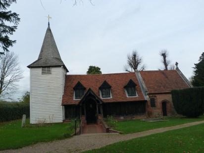 1 - South elevation (with Saxon nave, Medieval to post-Medieval chancel and post-Medieval tower)