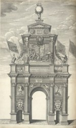 2 - the second arch at the Royal Exchange on Cornhill (theme of Neptune)