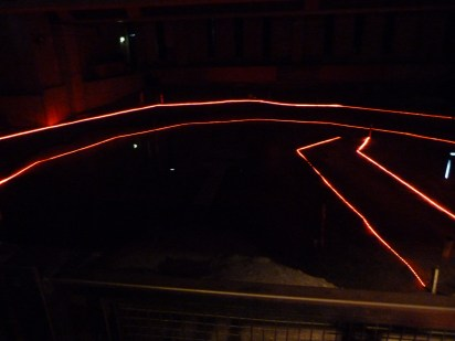 5 - Recently discovered Rose site, with outline and stage (plays are now performed in this space)