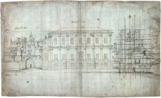 Inigo Jones's plan for the Banqueting Jouse