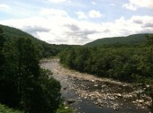 Deerfield River, Shellburn Falls MA