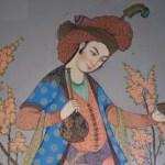 persiano con caftano