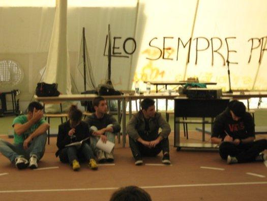 Assemblea d'Istituto al Liceo Scientifico Brotzu. Quartu S. Elena, Novembre 2010