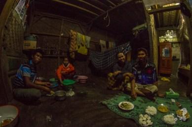 Family dinner.