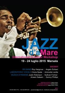 Jazz daMare Marsala 2015 Locandina