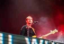 Bastille live at Lowlands - ph Saar de Graaf