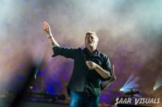 Elbow live at Lowlands - ph Saar de Graaf