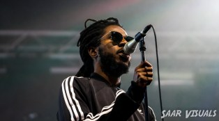 Chronixx live at Lowlands - ph Saar de Graaf