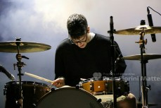 His electro blue voice -ph Francesca Fiorini
