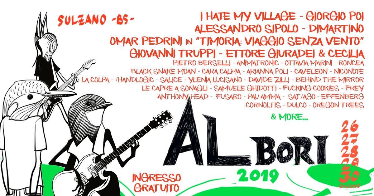 Albori Music Festival, tutto pronto per la nuova edizione. Tra gli ospiti Giorgio Poi, I Hate My Village, Omar Pedrini e Giovanni Truppi