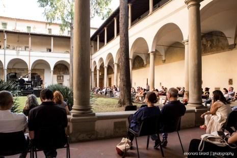 Wim Mertens - Chiostro del Carmine, Firenze, 15 giugno 2021 - foto di E. Birardi