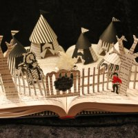 Sculptor Uses Shredded Books to Create Unlikely Results