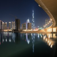 Jens Fersterra's Vibrant Photographs of Dubai