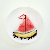 Artist Promotes Healthy Eating Through Food Art