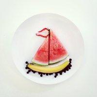 Artist Promotes Healthy Eating Through Food Art