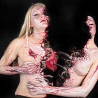 Bodies Transformed Through Body Paint