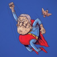Superheroes Succumb to Old Age