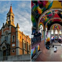 Century-Old Church in Spain Turned Into Skate Park
