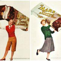 Sweet and Strange Vintage Candy Ads