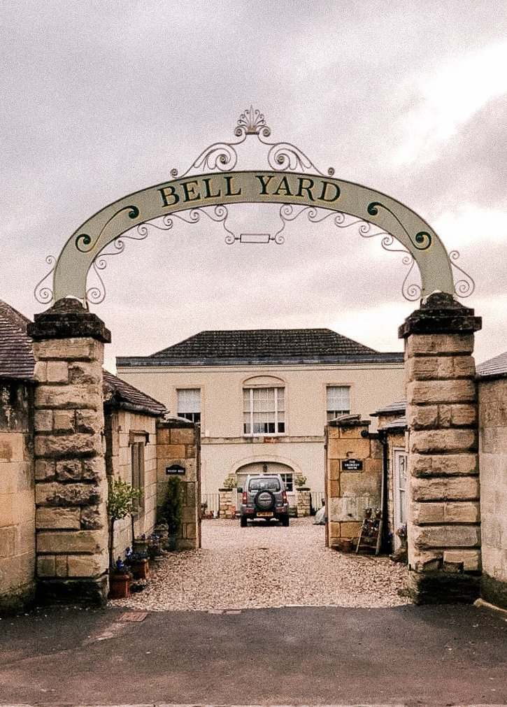 Painswick, Stroud, Gloucestershire, UK, English Countryside, The Cotswolds, Bell Yard