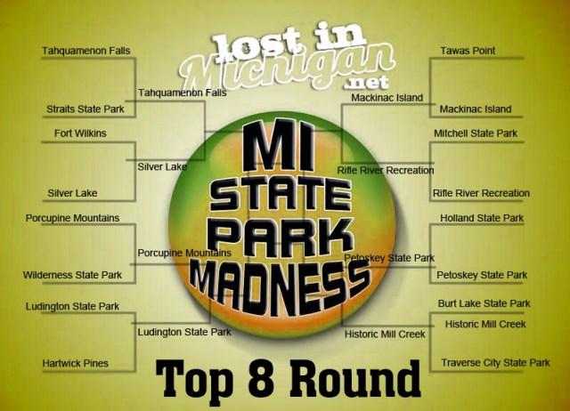 top 8 state park madness