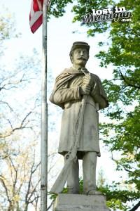 owosso civil war statue