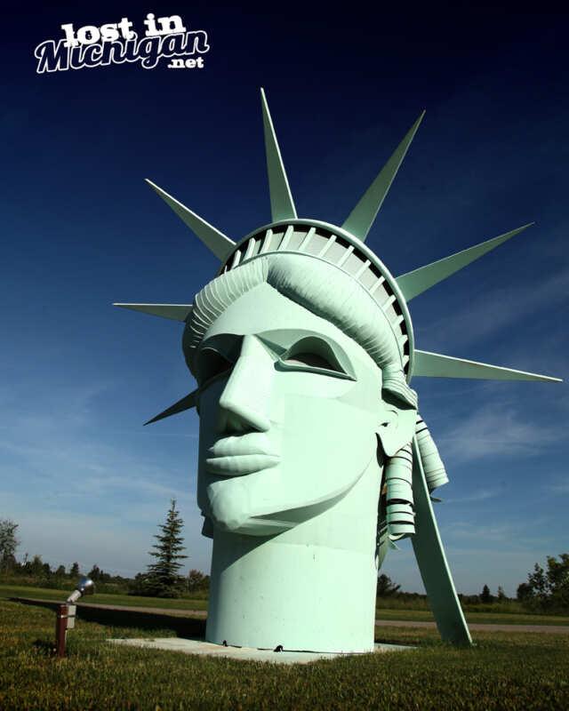 statute of liberty onaway michigan
