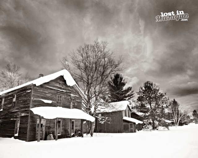 sheldrake Michigan haunted ghost town