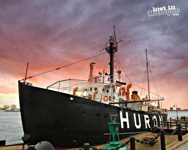 huron lightship port huron michigan