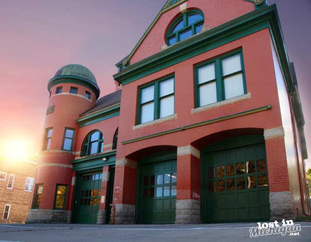 Manistee fire hall