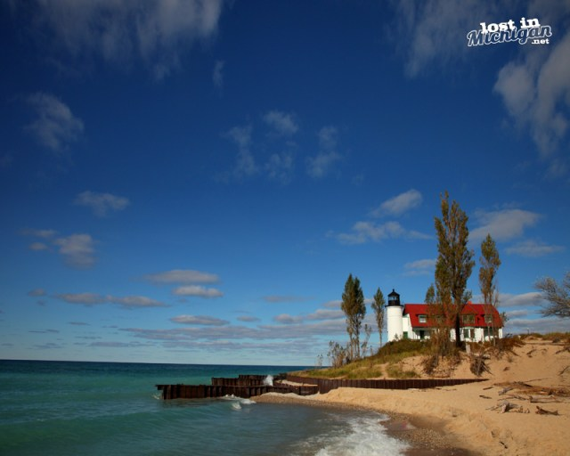 point betsie light house michiga