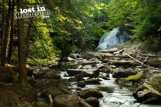 Alder Water Falls Michigan