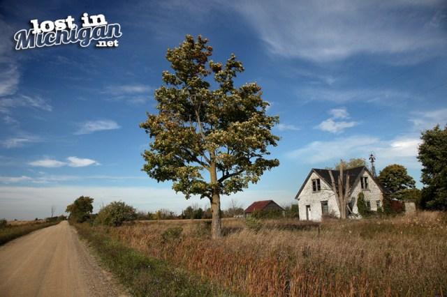 Michigan abandoned farm house