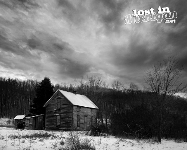 abandoned Michigan house