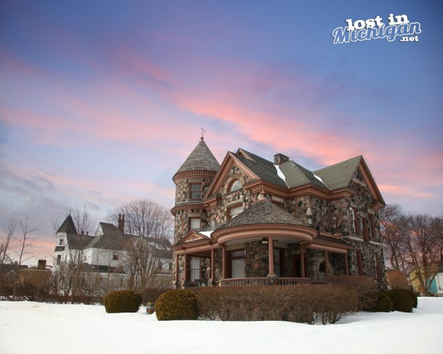 carl henry stone house alpena michigan
