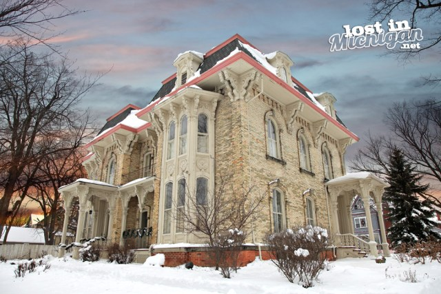 amos gould house owosso