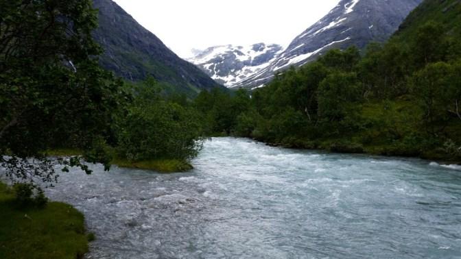 Bødalsbreen Noorwegen