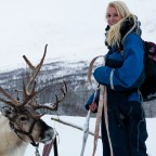 Magical reindeer sleigh ride through the frozen valley of Camp Tamok