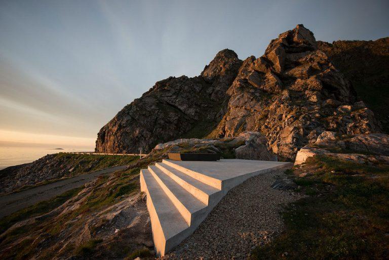 Nationaal Toeristische Routes - Kleivodden uitkijkpunt langs Andoya