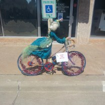 Frederick has put bikes all over town for us!