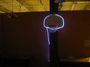 Hi-tech Basketball Goal