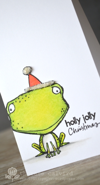 Holly Jolly Freckles - Detail