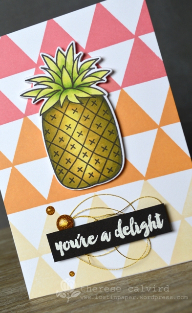 You're a Delight - Detail