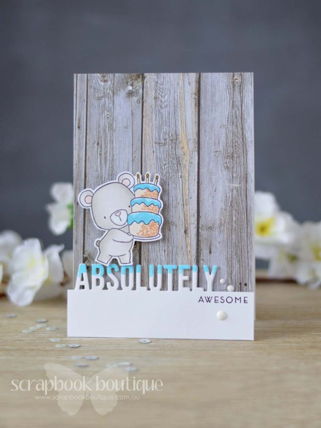 Lostinpaper - MFT - Beary Special Birthday - Absolutely Fabulous - Altenew - Painted Butterflies - Nuvo (video)